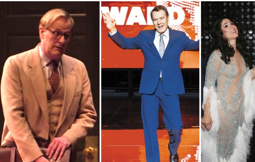 Jeff Daniels as Atticus Finch, Bryan Cranston as Howard Beale, Stephanie J. Block as Cher