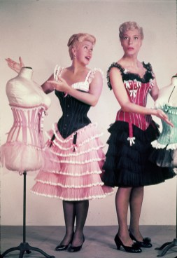 Carol Channing with Ginger Rogers in First Traveling Saleslady