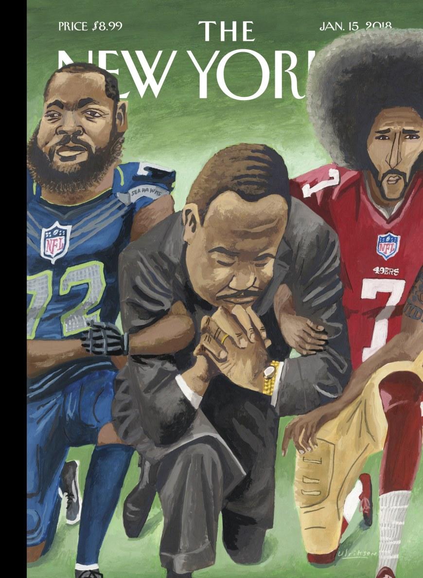 New Yorker cover MLK 2018