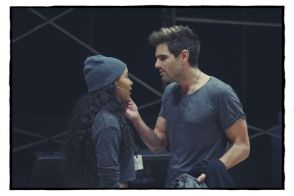 Tinashe as Mimi and Brennin Hunt as Roger