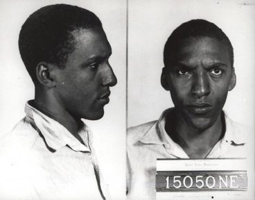 Rustin mug shot. One of the many times he was arrested