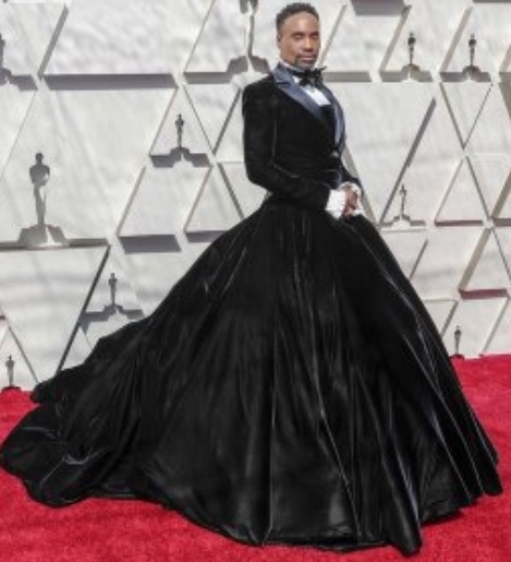 Billy Porter Oscars red carpet