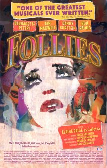 Follies Fraver theater poster