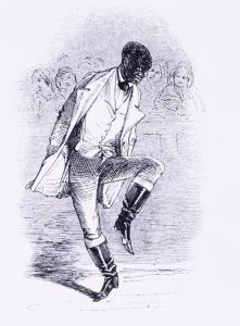 William Henry Lane, an early African-American star of minstrel shows. He is considered the father of tap dance