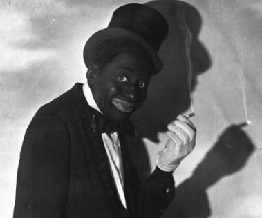 Bert Williams, an African-American who wore blackface, borrowed from minstrel routines, and became a huge star on Broadway.