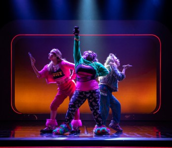 10 Be More Chill on Broadway KATLYN-CARLSON-TIFFANY-MANN-and-LAUREN-MARCUS