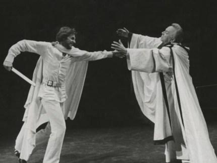 BAM 1978 René Auberjonois and George Rose