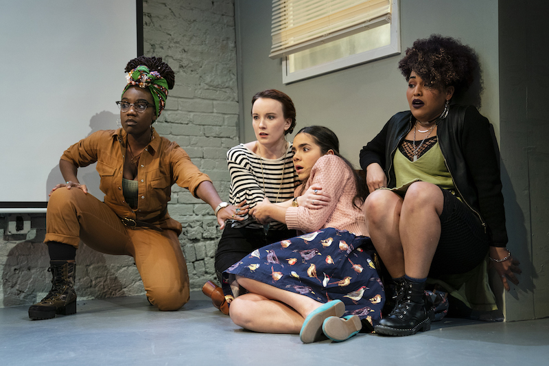 Good Friday Review Feminist Discourse Via Blood And Guns New York Theater