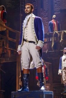 Austin Scott as Alexander Hamilton