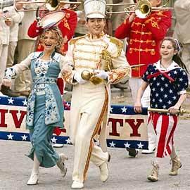 Kristin Chenoweth and Matthew Broderick in 2003 TV movie
