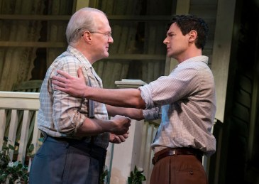 All My Sons 5 Tracy Letts and Benjamin Walker