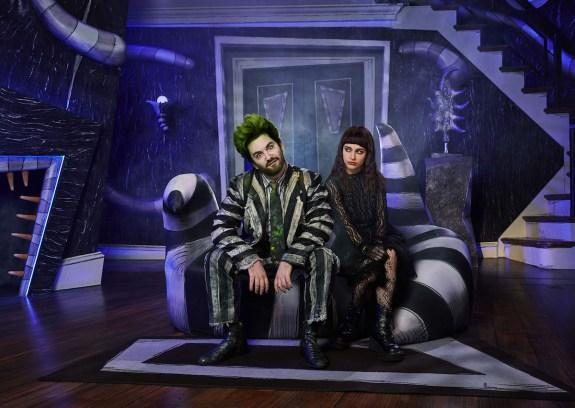 Beetlejuice 1 Alex Brightman and Sophia Caruso