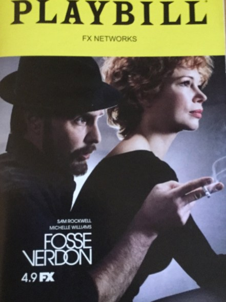 Fosse Verdon fake Playbill