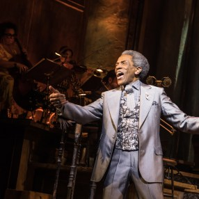 Andre De Shields in Hadestown