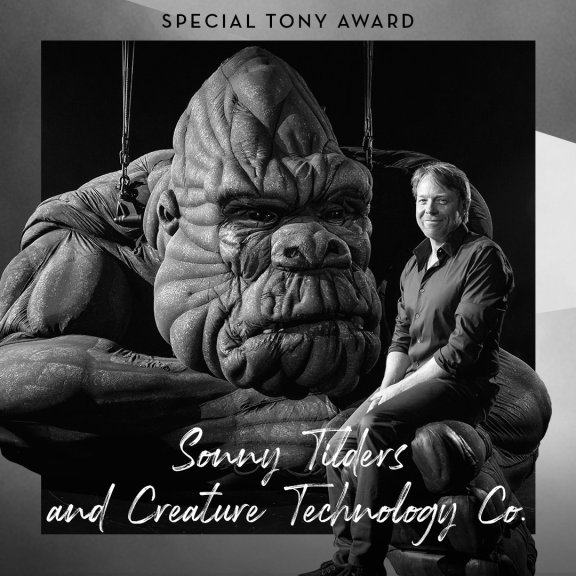 King Kong puppet creators