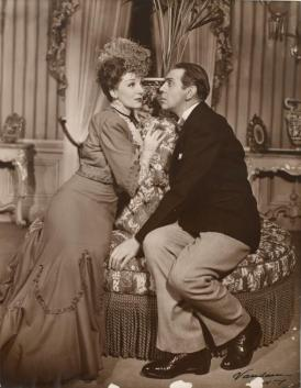 Gertrude Lawrence and Raymond Massey in Pygmalion on Broadway 1946