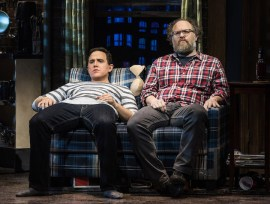 Santino Fontana as Michael and Andy Grotelueschen as his roommate Jeff
