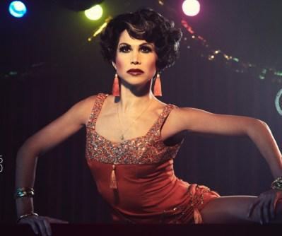 "Bianca Marroquin as Chita Rivera portraying Velma Kelly in ""Chicago"" in Fosse Verdon"