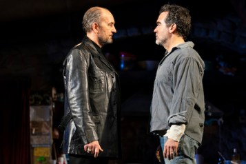 Ralph Brown (Muldoon) and Brian d'Arcy James (Quinn Carney)