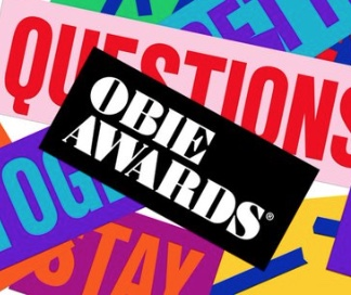 Obie Awards poster 2019
