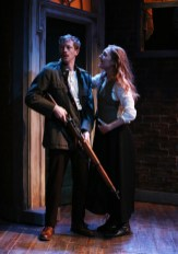 Adam Petherbridge and Clare O'Malley in The Plough and the Stars