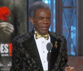 "On accepting his Tony for Hadestown, Andre De Shields explained his 3 rules of longevity: ""1: Surround yourself with people whose eyes light up when they see you coming. 2: slowly is the fastest way to get to where you want to be. 3: the top of one mountain is the bottom of the next so keep climbing."""