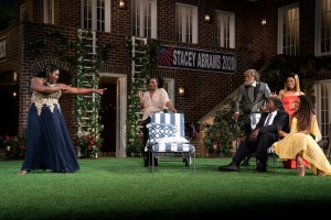 Much Ado About Nothing. Danielle Brooks, Olivia Washington, Erik Laray-Harvey, Chuck Cooper. Tiffany Denise-Hobbs and MargaretOdette