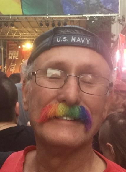 Pride Mustache