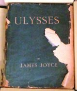 first edition of Ulysses, 1922