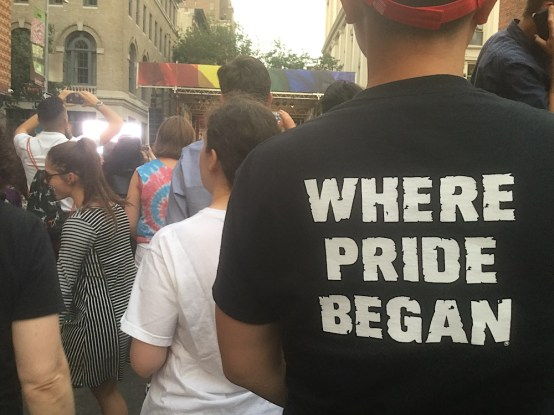 Where Pride Began t shirt