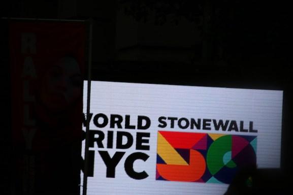 World Pride sign