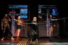 4 Broadway Bounty Hunter- Jared Joseph, Jasmine Forsberg, Annie Golden, and Christina Sajous