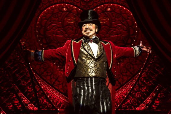 Danny Burstein as the impresario Harold Zidler in Moulin Rouge