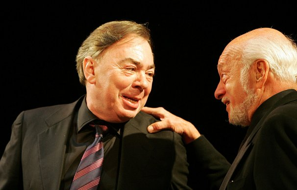 Andrew Lloyd Webber and Hal Prince