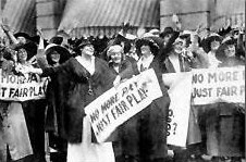 Marie Dressler and Ethel Barrymore on strike