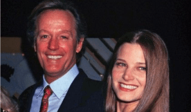Peter Fonda with daughter Bridget Fonda