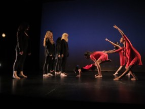 "Loco-Motion Dance Theatre for Children performing ""Deluge"""