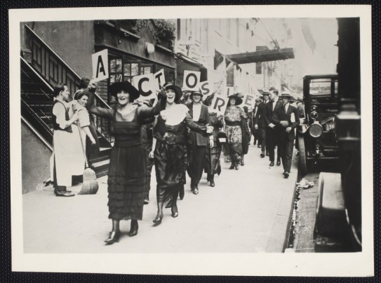 Actos Equity strike 1919