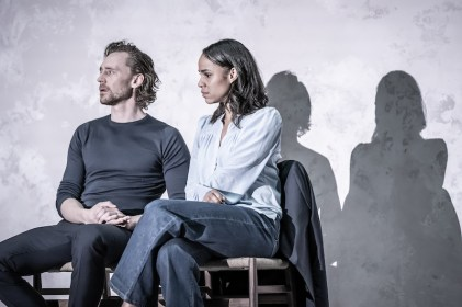 Betrayal 7 Tom-Hiddleston-and-Zawe-Ashton -photo-by-Marc-Brenner
