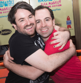 Alex Brightman and Rob McClure
