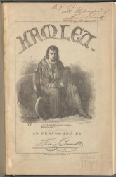 A program for Edwin Booth in Hamlet, 1866