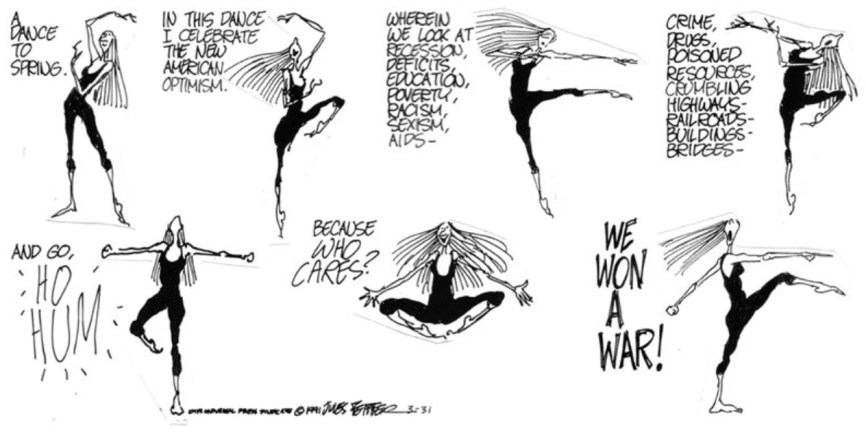 Jules Feiffer cartoon