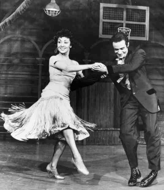 Ken Leroy with Chita Rivera in the original West Side Story