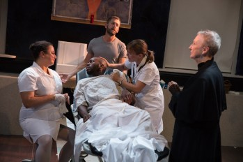 Novenas for a Lost Hospital: Natalie Woolams-Torres, Leland Fowler, Ken Barnett, Kelly McAndrew, Kathleen Chalfant