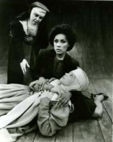 Diahann Carroll in Agnes of God with Geraldine Page