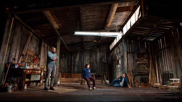 Fear 2 Obi Abili, Alexander Garfin, and Enrico Colantoni. Photo is by Jeremy Daniel (2)