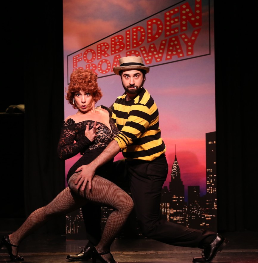 Forbidden Broadway spoof of Fosse Verdon