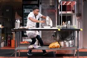 as the temperament chef in Seared