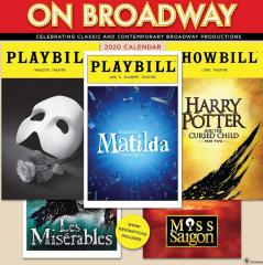 Broadway 2020 Playbill calendar