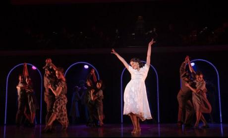 Evita 13 Maia Reficco and ensemble